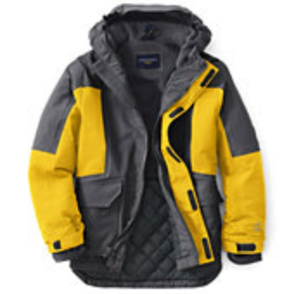 2cef2fe6403 Lands  End Other - Land s End Boys Squall Parka and Snowpants